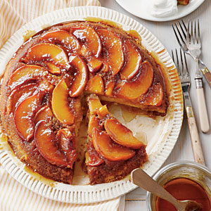 Cake of the Week: Peach Upside-Down Cake