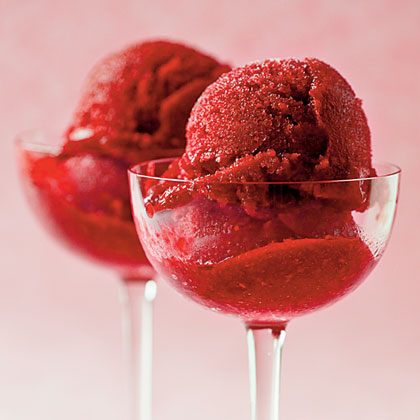 Raspberry-Ginger Sorbet