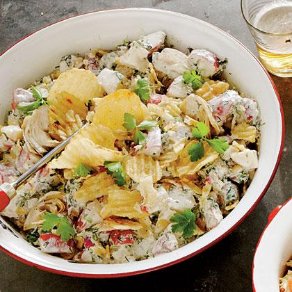 Spinach-Artichoke Dip Potato Salad