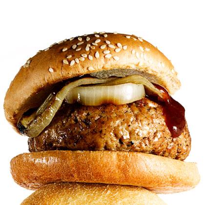 <p>BBQ Turkey Burgers</p>