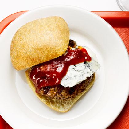 <p>Spicy Blue Turkey Burgers</p>