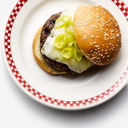 Tex-Mex Beef Burgers