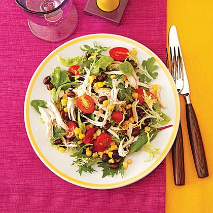 Black Bean and Chicken Salad Recipe