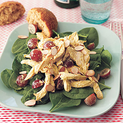 Curried Chicken and Grape SaladRecipe