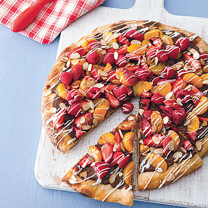 Grilled Dessert Pizza Recipe