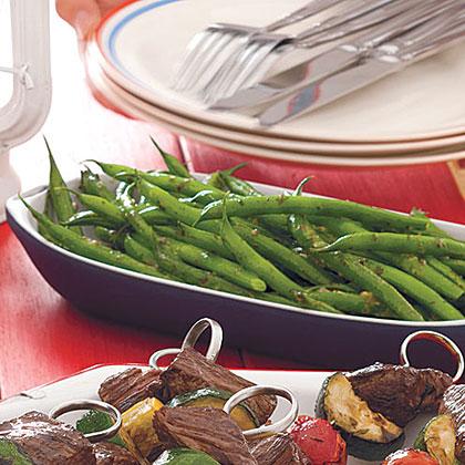Pesto Green Bean Salad