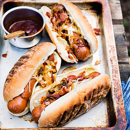 Cowboy Hot Dogs Recipe