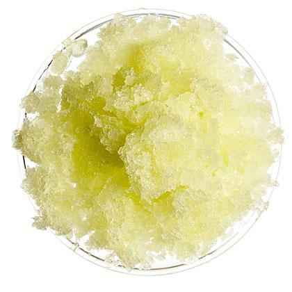 Honeydew Rose Water Granita