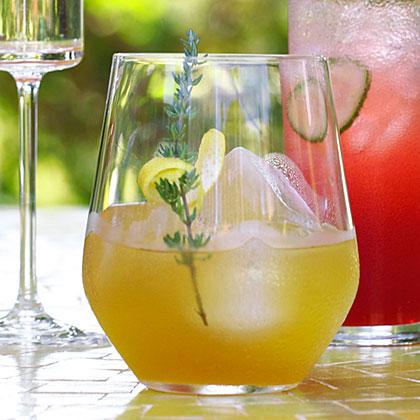 Lemon-Thyme Pimm's Cooler