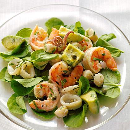 Seafood Salad with Creamy Tarragon DressingRecipe