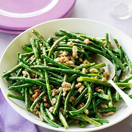 Stir-fried Pork and Long BeansRecipe