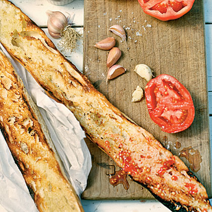 Grilled Tomato Bread Recipe