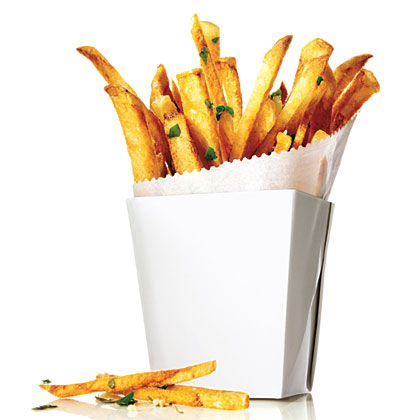 Garlic and Herb Oven Fries Recipe