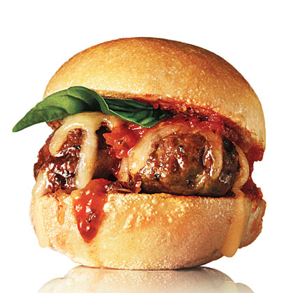 Neely's Meatball Sliders Recipe : Patrick and Gina Neely : Food ...