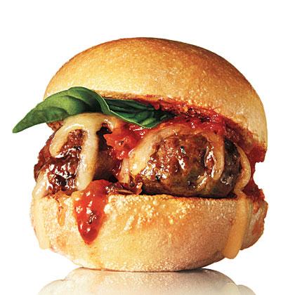 Italian Meatball Sliders