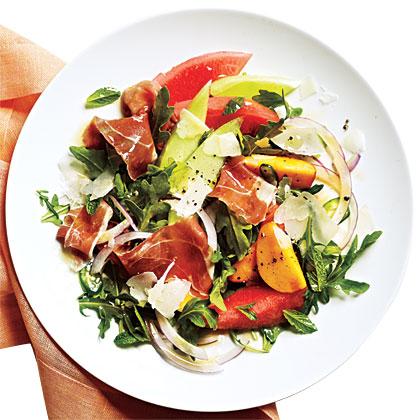 Melon Salad with ProsciuttoRecipe