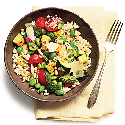Summer Veggie Rice Bowl