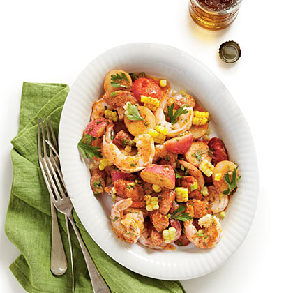 Shrimp-Boil Potato Salad