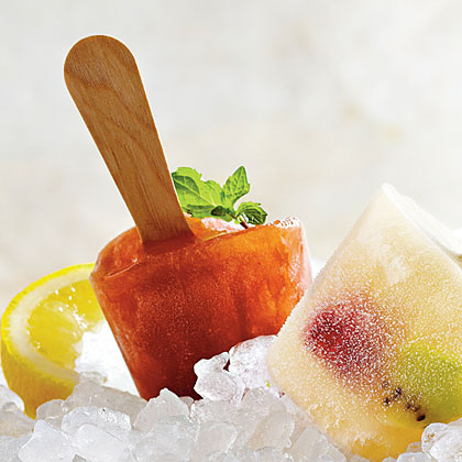Sweet Tea Julep Pops