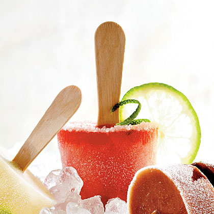 Watermelon Margarita Pops Recipe | MyRecipes.com