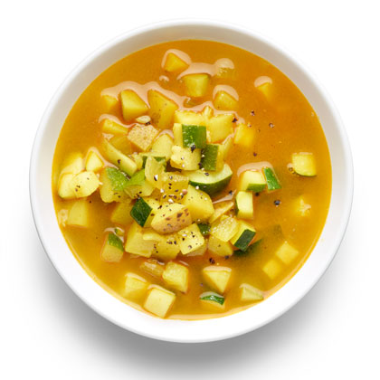 <p>Hearty Zucchini Soup</p>