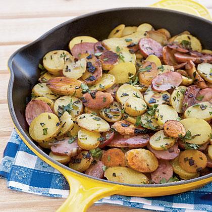 Hash Brown Fingerling Potatoes Provençale