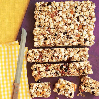 Popcorn Snack Bars Recipe | MyRecipes
