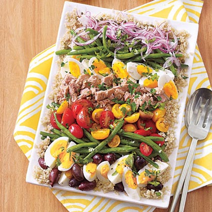 Quinoa Salad Niçoise with Lemon-Caper Vinaigrette Recipe