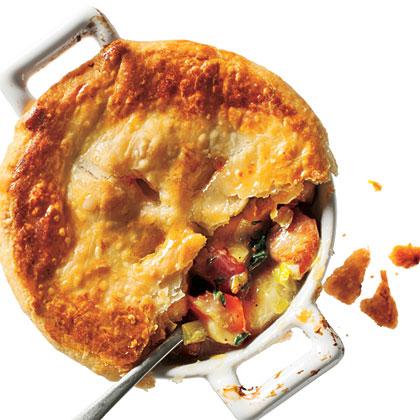 <p>Chicken, Potato, and Leek Pie</p>