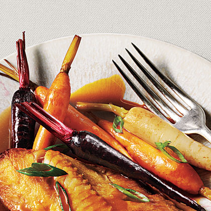 Cider-Glazed Carrots