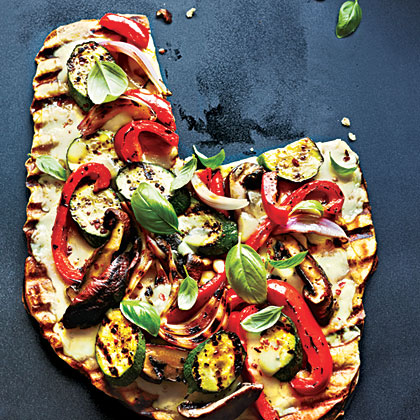 pizza grilled vegetable and smoked grilled pizza image 1 grilled ...