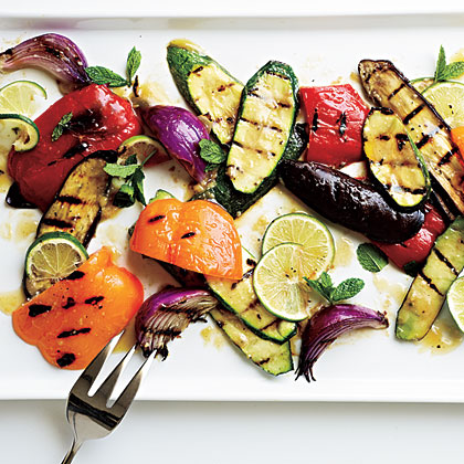 Miso Grilled Vegetables