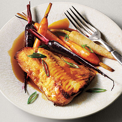 Sablefish with Mild Mustard Glace