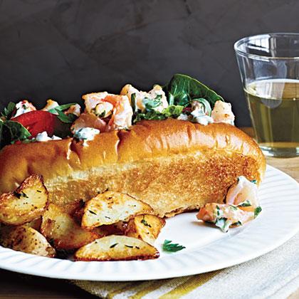 Shrimp Salad RollsRecipe
