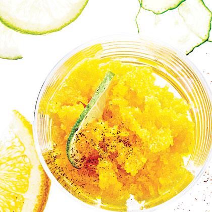 Spicy Mango Granita