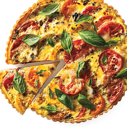 Tomato Tart Recipe | MyRecipes.com