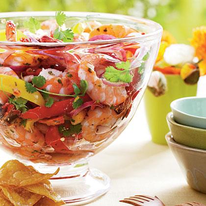 Chipotle Shrimp Cocktail