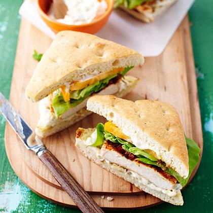 Spicy Grilled Chicken SandwichesRecipe