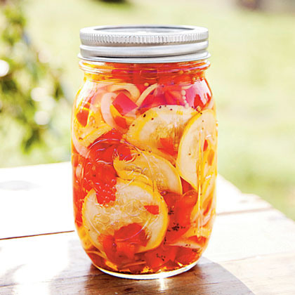 Judy's Pickled Squash