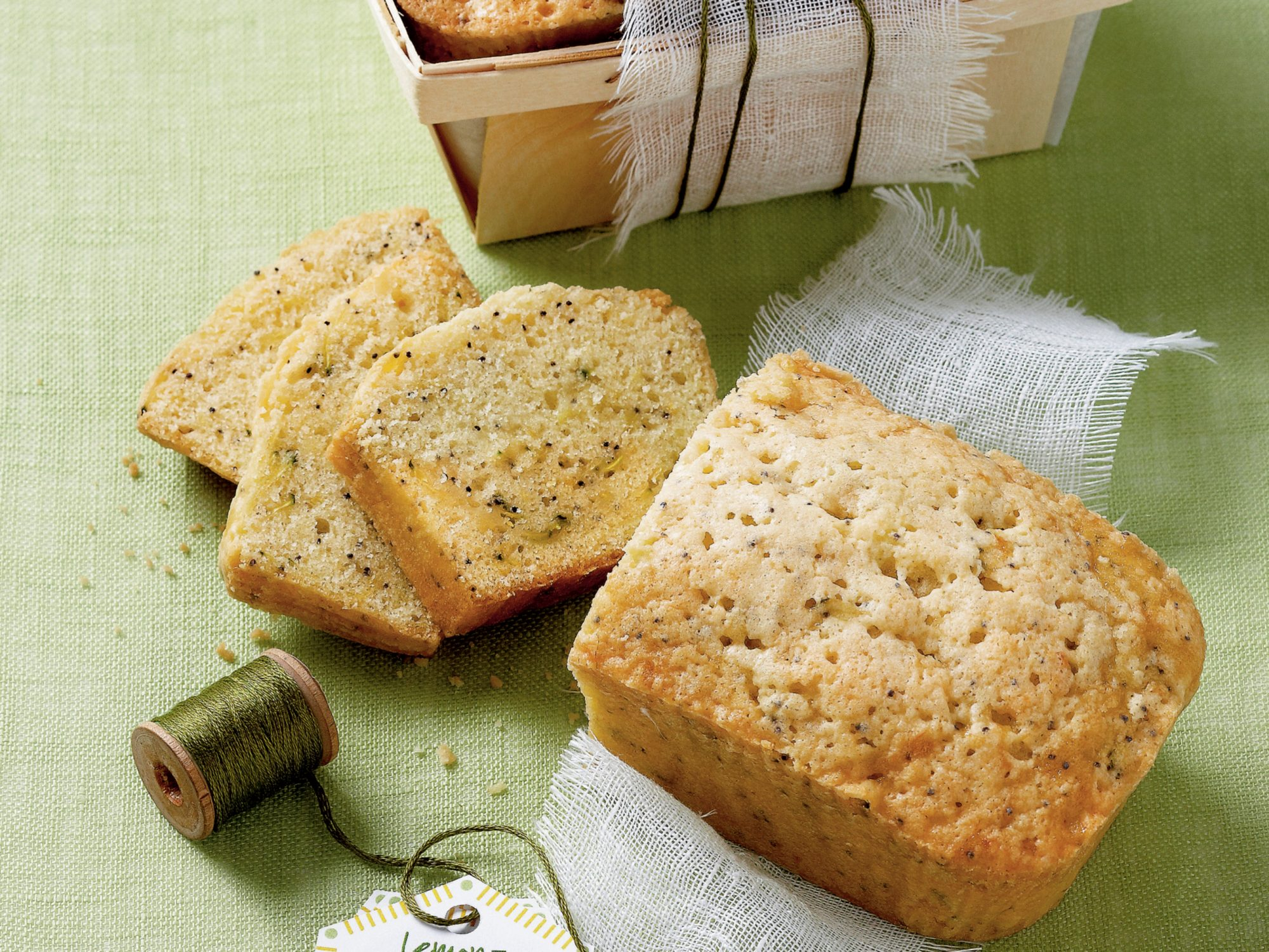 Lemon-Poppy Seed Zucchini Bread