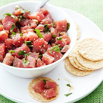 Tuna Poke Recipe   MyRecipes