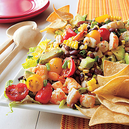 Black Bean, Corn and Shrimp SaladRecipe