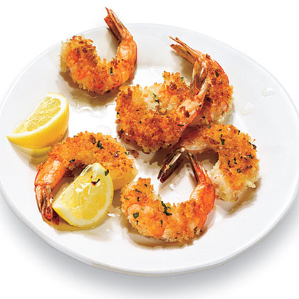 Pan-Fried Shrimp