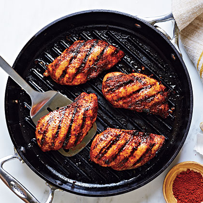 Spice-Rubbed Grilled ChickenRecipe