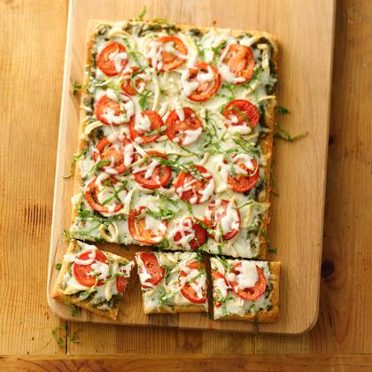 BBQ Chicken Pizza From Pillsbury Artisan Pizza Crust Recipes ...