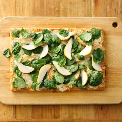 Pear Gorgonzola Pizza
