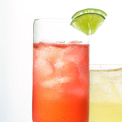 Berry-Lime Water