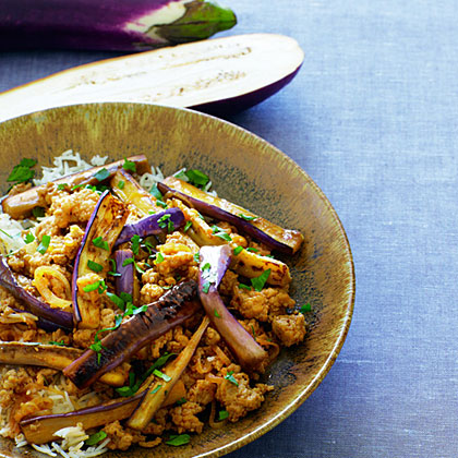 Spicy Pork & Eggplant Stir-Fry | Williams-Sonoma Taste |Spicy Eggplant Pork Recipe