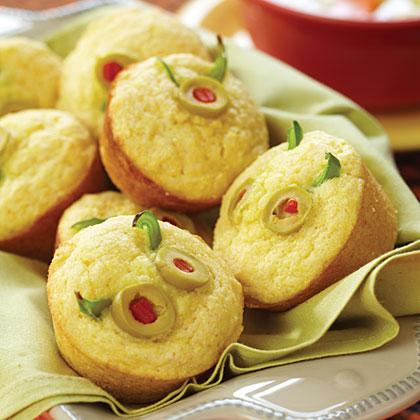 Monster Face Muffins Recipe Myrecipes