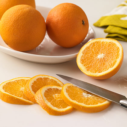 How do you know how many oranges to buy when a recipe calls for a certain amount of fresh orange juice or zest?